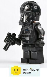 sw632 Lego Star Wars 75095 - UCS TIE Fighter Pilot Minifigure w Blaster - New