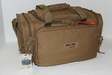 Deluxe Range Bag -Coyote Tan w/ FREE Embroidered Monogram Tactical Ammo Bag