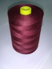 Polyester - Poly Core Sewing Thread T60, Cranberry, 6000 yards/spool, New