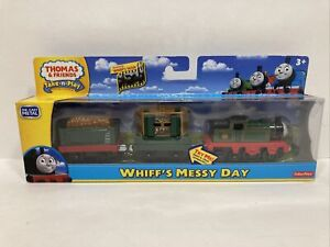 Whiff's Messy Day Thomas & Friends Take N Play die cast HTF Train Set Magnetic
