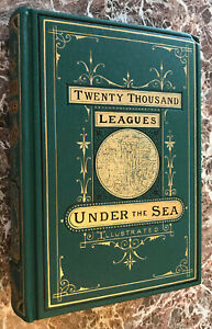 20,000 Twenty Thousand Leagues Under the Sea,Jules Verne,Facs/1873 First Edition