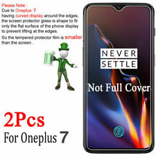 2 x Tempered Glass 9H Screen Protector For OnePlus 7