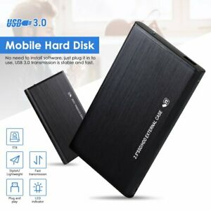 "2 To Disque Dur Externe USB 3.0 Disque 2.5"" HHD Portable PC Windows Linux MacOS"