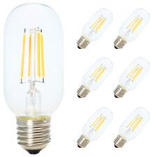 6X E27 T45 4W Edison Vintage Glühbirne Industrial Retro Stil Filament Lamp 2200K