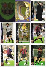 COMPLETE SET BARCELONA 41 CARDS LIGA 2002 2003:PUYOL,XAVI,RIVALDO,INIESTA ROOKIE
