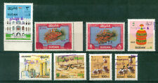 SUDAN / 8 DIFFERENT MNH OVERPRINTED STAMPS / VF