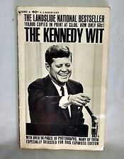THE KENNEDY WIT Paperback Book by Bantam Books, Edited by Bill Adler 1964
