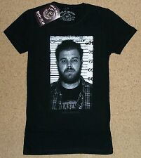 Sons Of Anarchy Opie Mugshot Juniors Shirt Small Official Licensed NWT