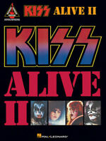 KISS GUITAR TAB / TABLATURE / ***BRAND NEW*** / KISS ALIVE II / KISS SONGBOOK