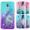 For Samsung Galaxy J7 V 2018/J7 Crown/Refine/Star/Top Liquid Glitter Case Cover