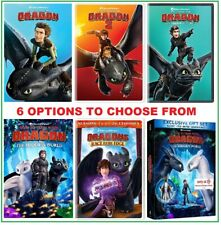 HOW TO TRAIN YOUR DRAGON * 6 Options: 1 or 2 or 3 / Bluray or DVD and/or Digital