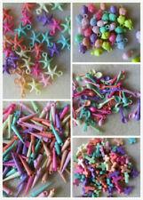 100 - 1000 un. Acrílico pastel encantos, joyas o Craft haciendo. Reino Unido Vendedor