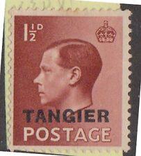 (T14-35) 1937 GB 1½d brown Edward VIII O/P Tangier