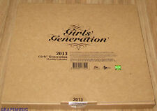 GIRLS' GENERATION SNSD 2013 SM OFFICIAL DESK CALENDAR SEALED