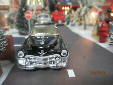 "TRAIN GARDEN VILLAGE HOUSE  "" BLACK CADILLAC "" + DEPT 56/LEMAX info!"