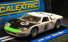 SCALEXTRIC C3231 FORD GT40 WITH WORKING HEADLIGHTS   1/32 SLOT CAR