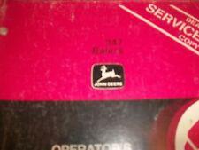 John Deere Operator'S Manual 347 Balers