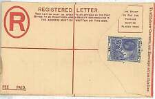 ST GEORGE & THE DRAGON : POSTAL STATIONERY : BARBADOS - 2 12 d