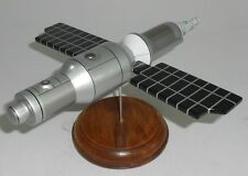 Excalibur Almaz Satellite Spacecraft Mahogany Wood Model Large New