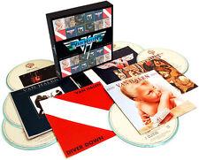 VAN HALEN CD x 6 The Studio Album 1978-1984 Box set + Pro Sheet
