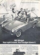 1979 MG Midget Original Advertisement Print Car Ad J532
