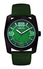 Marc Ecko Men's Analog Green Leather Quartz E09508G3 Watch