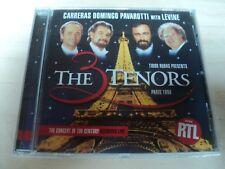 The 3 Tenors Domingo Carreras Pavarotti Levine Concert of The Century Paris 1998