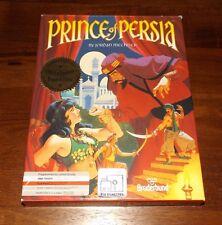 Prince Of Persia PC Computer Game Broderbund IBM/Tandy 1990