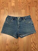 Aeropostale Shortie Jean Shorts Womens Size 14