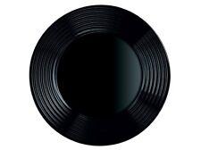00251 Luminarc Harena Noir - PLAT ASSIETTE alimentaire plat assiette 25 cm