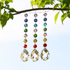 1PCS Rainbow Maker Crystal Suncatcher Hanging Window Wedding Decor Women Gift