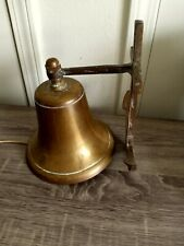 Vintage Brass Ships Bell Maritime Bell. Nautical Ship Bell. Excellent Condition.