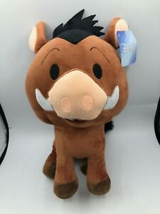 The Lion King Pumbaa Warthog Disney Pixar Plush Kids Soft Stuffed Toy Animal