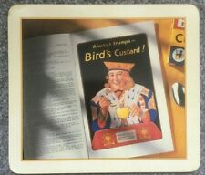 More details for set of 8 vintage style bird's custard advertising tablemats - 4 designs