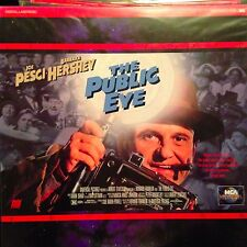 The Public Eye / Letterboxed  - LASERDISC  Buy 6 for free shipping