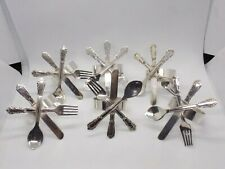 More details for set of 6 rare solid silver