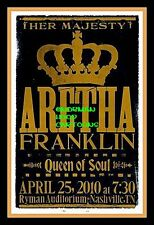 "ARETHA FRANKLIN, QUEEN OF SOUL- MINI-POSTER PRINT 7"" x 5"""