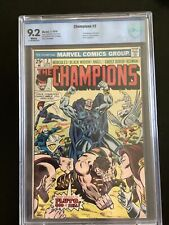 Champions #2  CBCS 9.2 WP NM- Marvel 1976 PLUTO GOD OF HELL Highly collectible