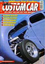 CUSTOM CAR JULY 2003-CHOPPED PRO STREET POP-TOP FUEL DRAGSTER-A40 DEVON VAN MAG