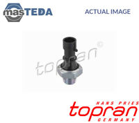 TOPRAN OIL PRESSURE SENSOR GAUGE 205 080 P NEW OE REPLACEMENT