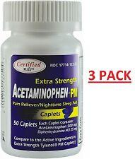 Extra Force Soulagement Douleurs + Nuit Sleep-Aid Générique Tylenol Pm 150