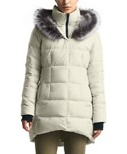 $299 NWT THE NORTH FACE WOMEN'S Dealio Faux Fur Trim Hooded Down Parkina Coat