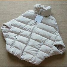 Brand New Ladies Fashion Bat 1/2 Sleeve Beige Jacket Size L