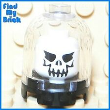 U131A Lego White Minifigure Evil Skull in the Dome 4766 4757 5378 7627 NEW