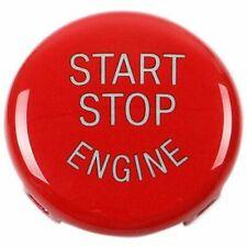 1X(Start Stop Engine-Taste Druckknopf Zündschalter Abdeckung Ersatz Für Bmw 6I