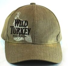 Wild Turkey Bourbon Baseball Cap Truckers Hat Adjustable Embroidered Brown f29cd01fd481