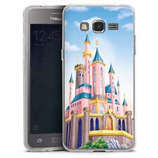 Samsung Galaxy Grand Prime Silikon Hülle Case handyhülle - Disney Castle