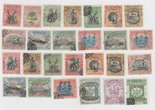 North Borneo Mint No Gum #80, 82, 103 & Several Used