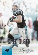 Greg Olsen 2015 PANINI Prestige FOOTBALL FIGURINA, #138