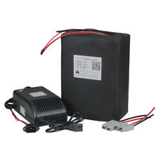 EBike 48V 40Ah Lithium Li-ion Battery Pack Electric Bicycle Scooter  Charger BMS